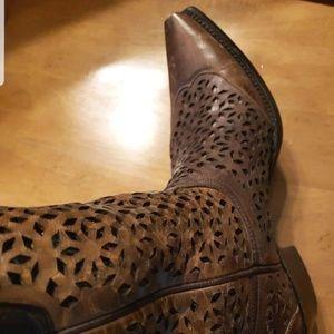 OLD GRINGO brown boots   eyelet design